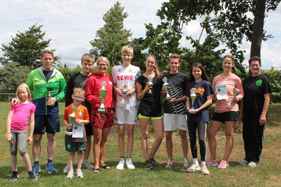 Sportfest beim TSV Leinde
