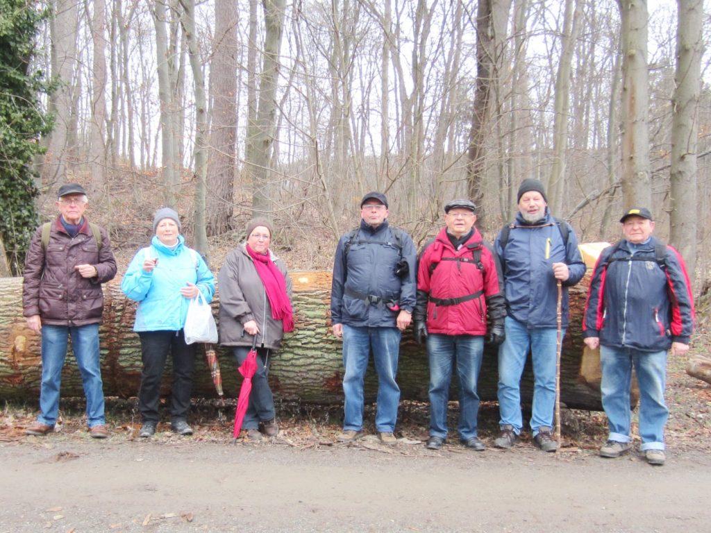 Wanderung am 13.02.2019 zur Waldgaststätte Hasenspring in Salzgitter