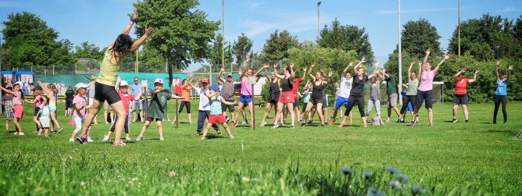 Perfektes Wetter und gute Stimmung beim Sportfest am 02.06.2019