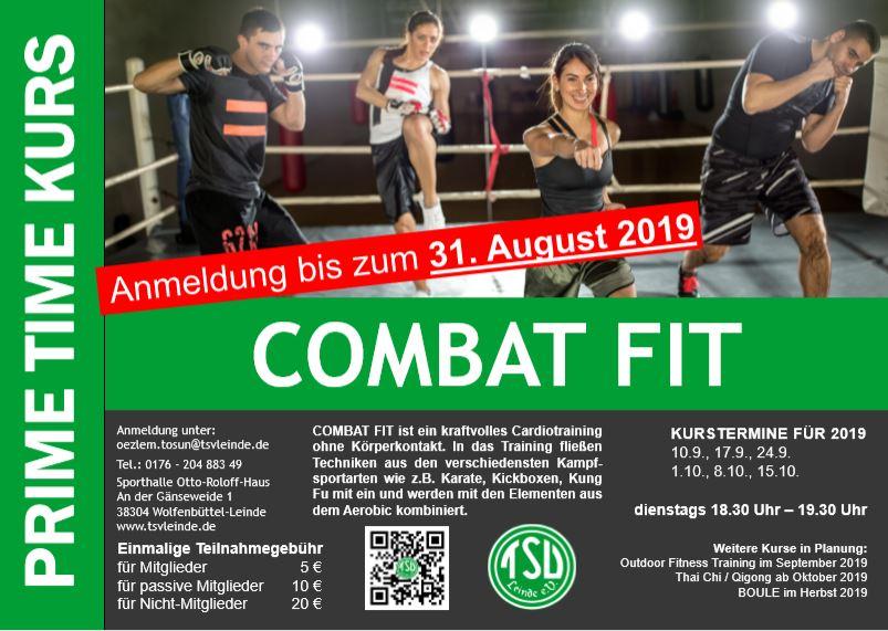 Combat Fit ab 10.09.2019