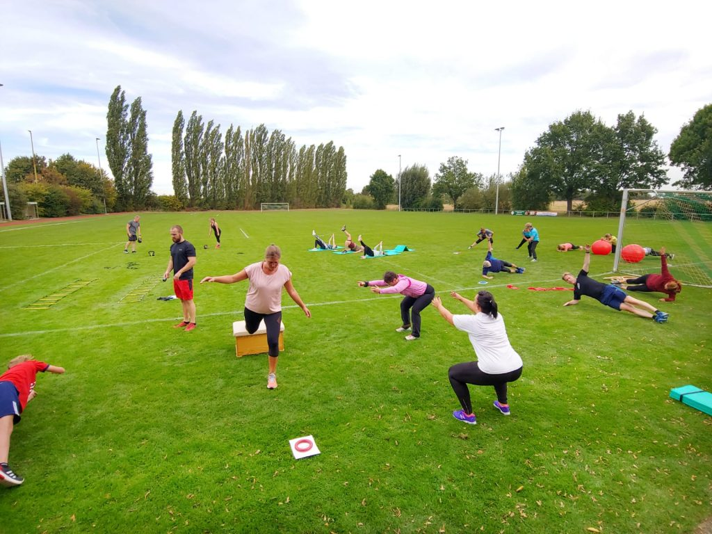 Workshop functional workout am 15.09.2019 bei bestem Sportwetter
