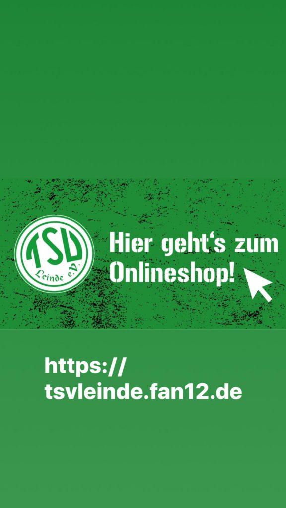neuer TSV Shop ist online