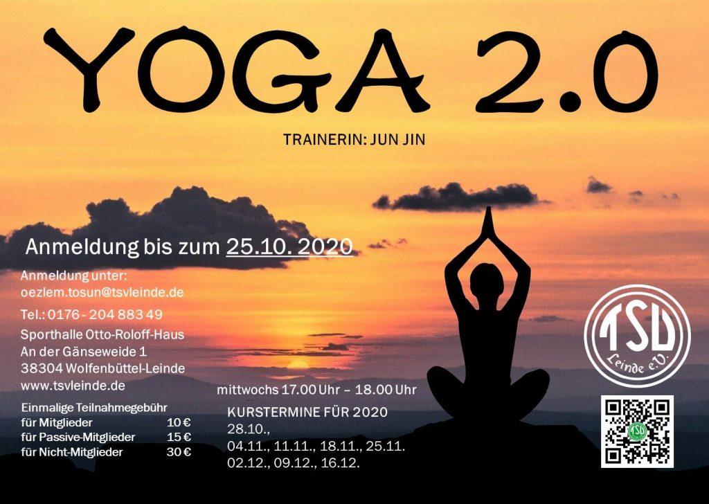 Es geht weiter: Yoga 2.0